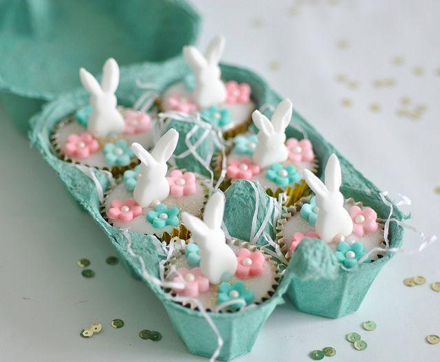Mini bunny cakes | Flickr - Photo Sharing!