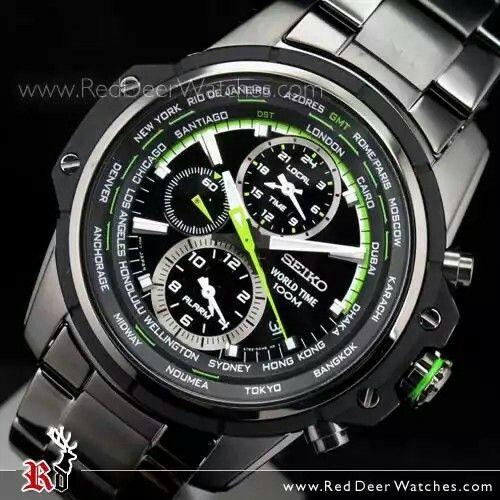 Seiko Criteria World Time Alarm Multi-Function SPL045P1 - Buy Watches Online | SEIKO Red Deer Watches
