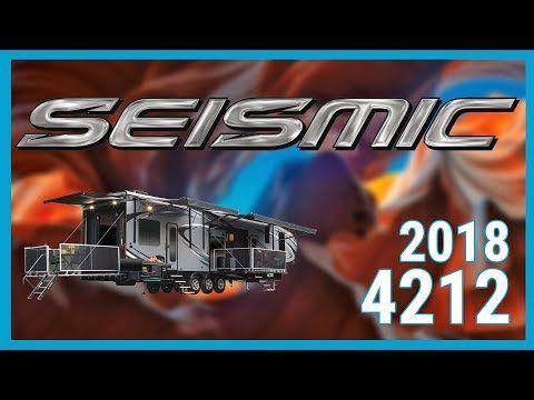 2018 Jayco Seismic 4212 5th Wheel Toy Hauler RV For Sale All Seasons RV Supercenter - YouTube