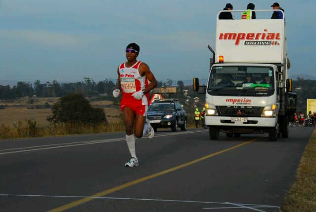 Its not always so much fun... here we have a super serious athlete that works really really hard to get where he does - hats off and respect to Prodigal Khumalo and so glad we can make a product for him that makes his run a little sweeter:)