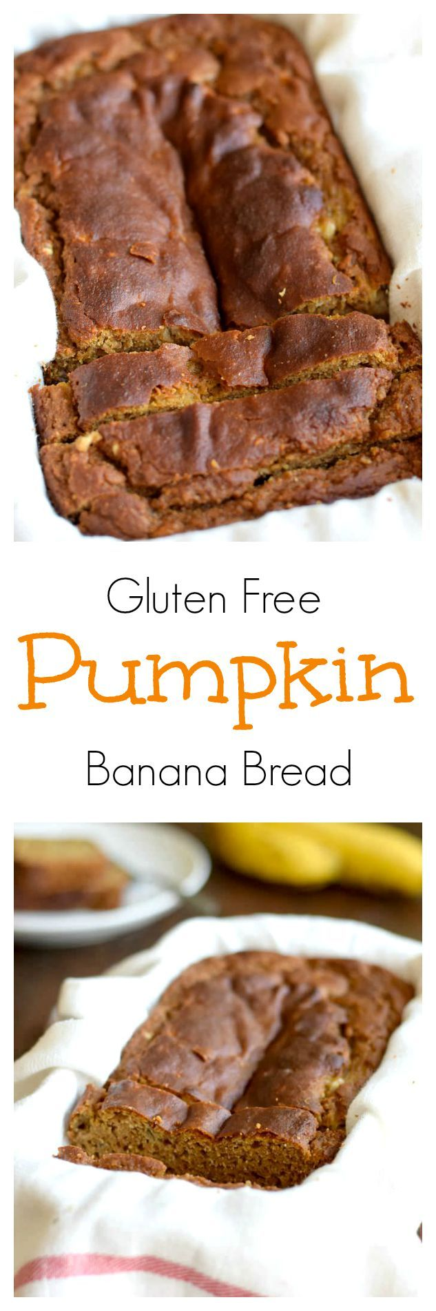 Almond Flour Pumpkin Banana Bread #GlutenFree #Paleo