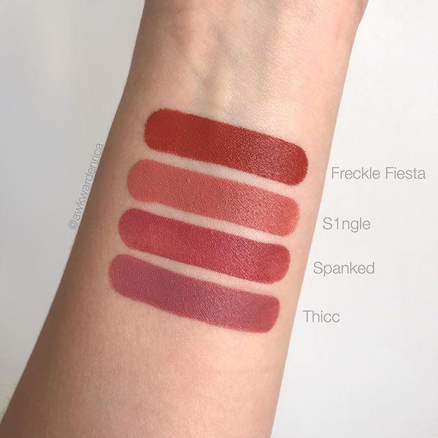 Mattemoiselle Fenty Thicc Recherche Google Fenty Beauty Beauty Lipstick Lipstick Swatches