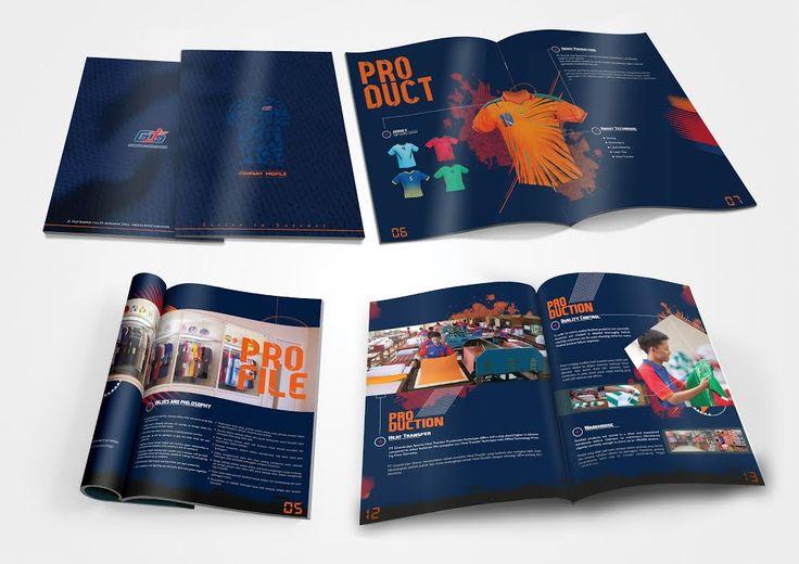 Sport wear Company Profile design by SIGNIFICAN significan-design.com