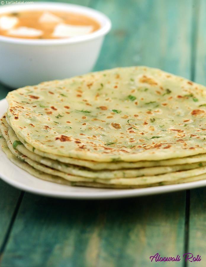 Aloowali Roti recipe | Punjabi Recipes | by Tarla Dalal | Tarladalal.com | #30916