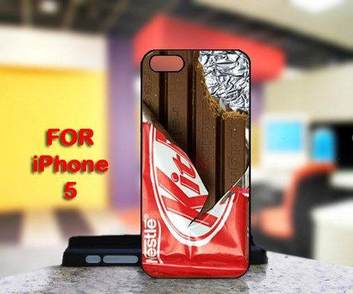 KitKat Chocolate For IPhone 5 Black Case Cover