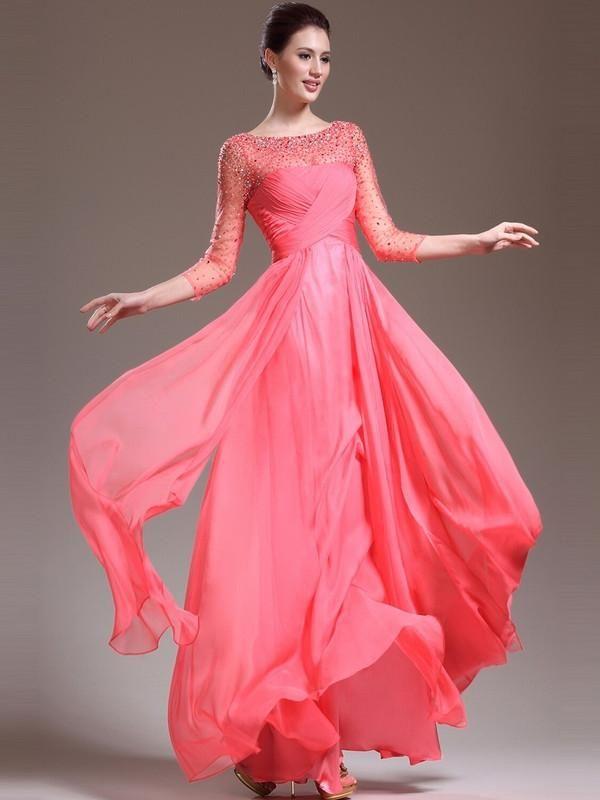 Mejores 44 imágenes de ☆Long Prom Dresses☆ en Pinterest   Trenes ...