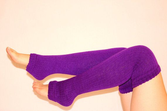 Hey, I found this really awesome Etsy listing at https://www.etsy.com/listing/217192847/sexy-leg-warmers-purple-wool-socks