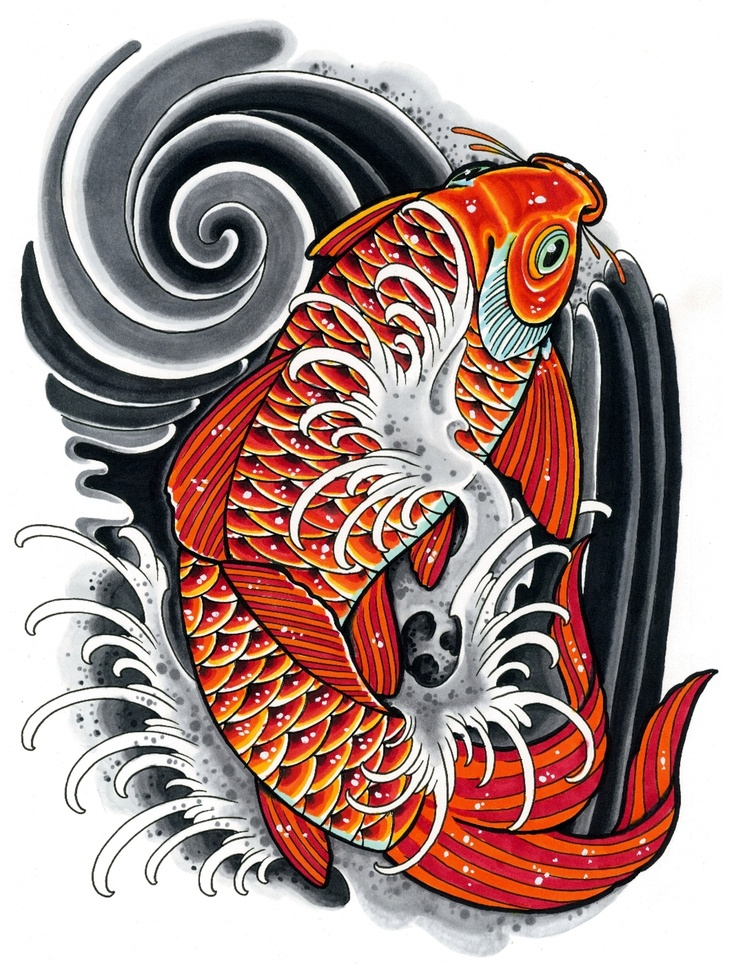 1000 images about tattoo designs on pinterest japanese for Japanese koi design