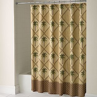 28 Best Images About Palm Tree Shower Curtain And Bath Accessories On Pinterest