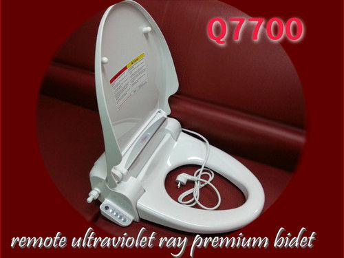 Quoss Q7700 Remote Electric Aroma Ultraviolet Rays BIDET Seat Washlet Large