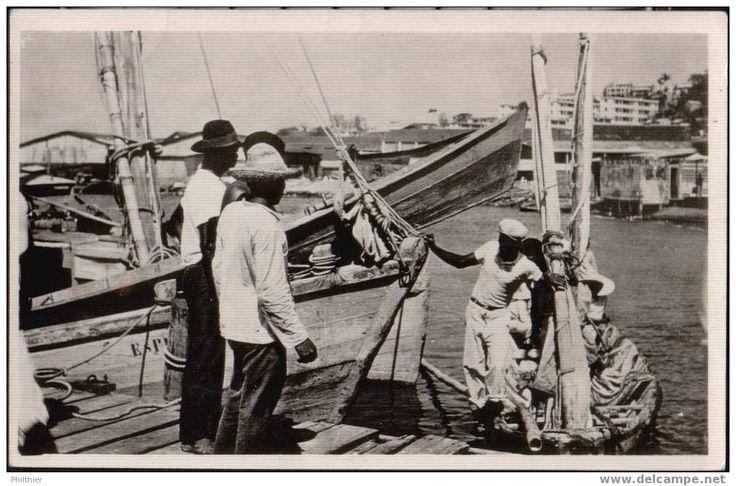 Fort de France - les pêcheurs