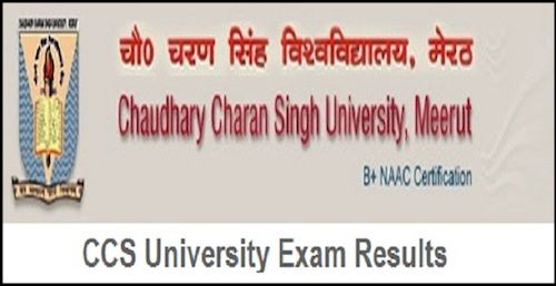 CCS University BA 2nd Year Result 2019 online available at