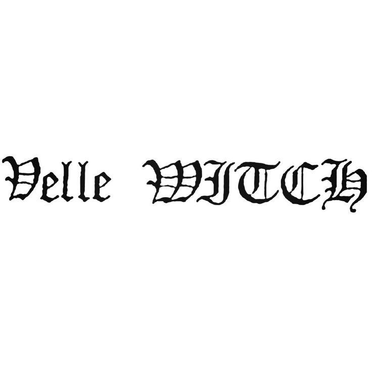 Velle Witch Band Decal Sticker  BallzBeatz . com