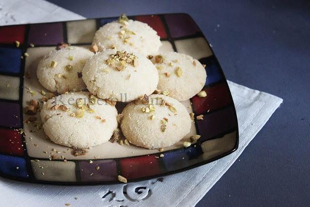 Nan Khatai | Egg less Cookies - Diwali Special Sweet ~ Sankeerthanam (Reciperoll.com)|Recipes | Cake Decorations | Cup Cakes |Food Photos