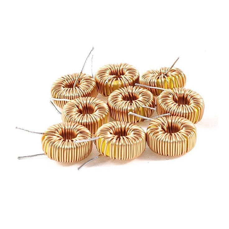 New 10 Pcs Toroid Core Inductor Wire Wind Wound 100uH 81mOhm 2A Coil #Affiliate