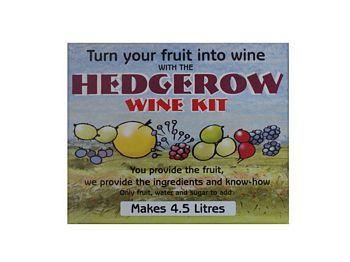 Hedgerow Wine Kit - Homebrew supplies online.