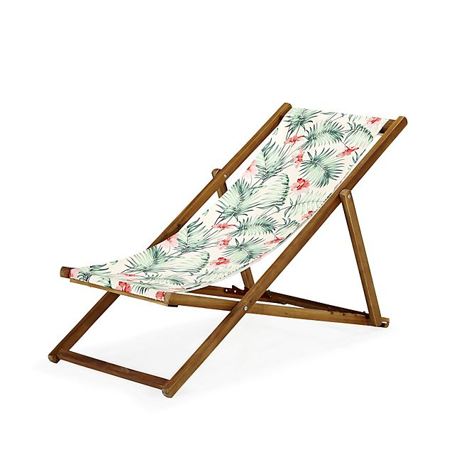 Perfect Tropicale Chilienne 4 Positions à Motifs Tropicaux · Folding ChairGroundsCuteLoftLounge  ... Images