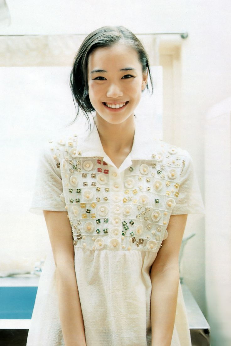 licoricewall: 蒼井優: anan #1562