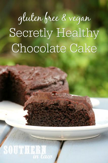 You would never know that this Secretly Healthy Chocolate Cake Recipe was gluten free, contained zucchini or had a frosting that is entirely sugar free! The perfect birthday cake or party option, this clean eating recipe is a family favorite and so easy to make! Moist, fluffy and delicious, it is gluten free, has a vegan option, refined sugar free, dairy free, nut free, soy free, egg free and one of our favourite sweet treats! Applesauce, dates and zucchini are the secret healthy ingredients…