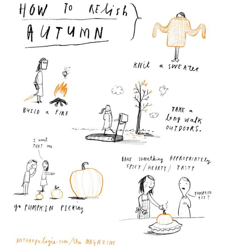 Relishing Autumn / The Magazine - Anthropologie.com #fall #autumn
