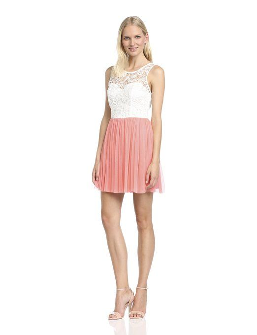 Lipsy Women's DR07047 Mini Dress, Beige (Cream/Sienna), Size 8: Amazon.co.uk: Clothing