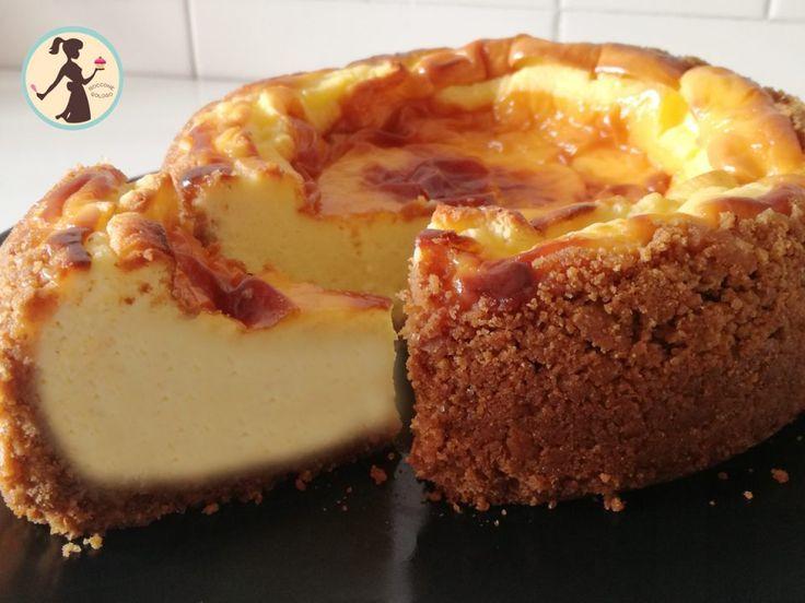 New York Cheesecake cotta in forno boccone goloso
