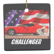 2010 Challenger SRT8 Ceramic Ornament
