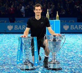 Blog Esportivo do Suíço:  Murray domina Djokovic, leva título do ATP Finals e fecha ano como número 1