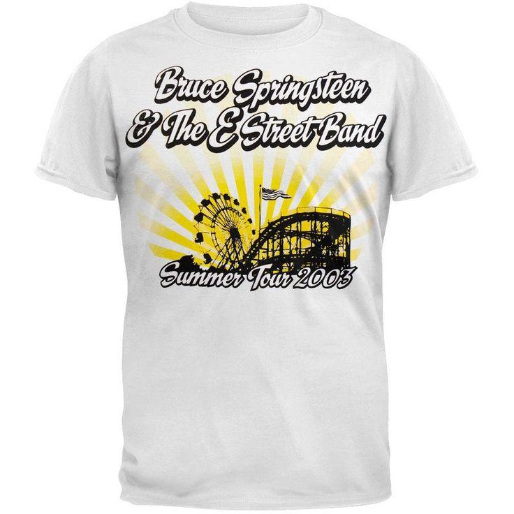 Bruce Springsteen - Carousel Giants Stadium 03 Tour T-Shirt