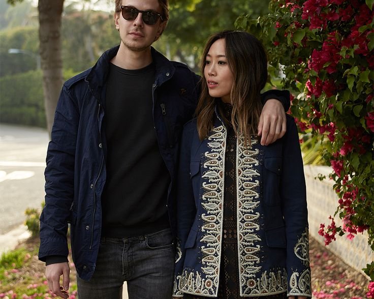 Creative and casual moments: this is the Double Life of Aimee Song and the fashion photographer Jacopo Moschin. Shop now: http://store.fay.com/Fay/IT/c/119-Fay   www.fay.com