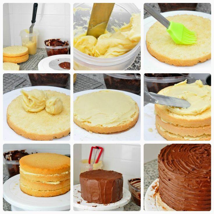 Layer cake de Pascua