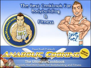 Anabolic Cooking – The Best Cookbook For Bodybuilding & Fitness. Every serious fitness enthusiast knows that nutrition is the most important part of building an impressive, ripped, muscular physique. Let's face it, even if you are on the best training program possible and take all the best supplements, your muscles won't grow by themselves and the fat is not going to fall off magically. Food will make your muscles grow and burn that stubborn belly fat.