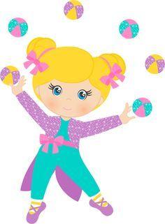 bailarina circo rosa png - Pesquisa Google