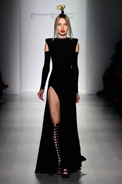 Michael Costello - Runway - Mercedes-Benz Fashion Week Fall 2015