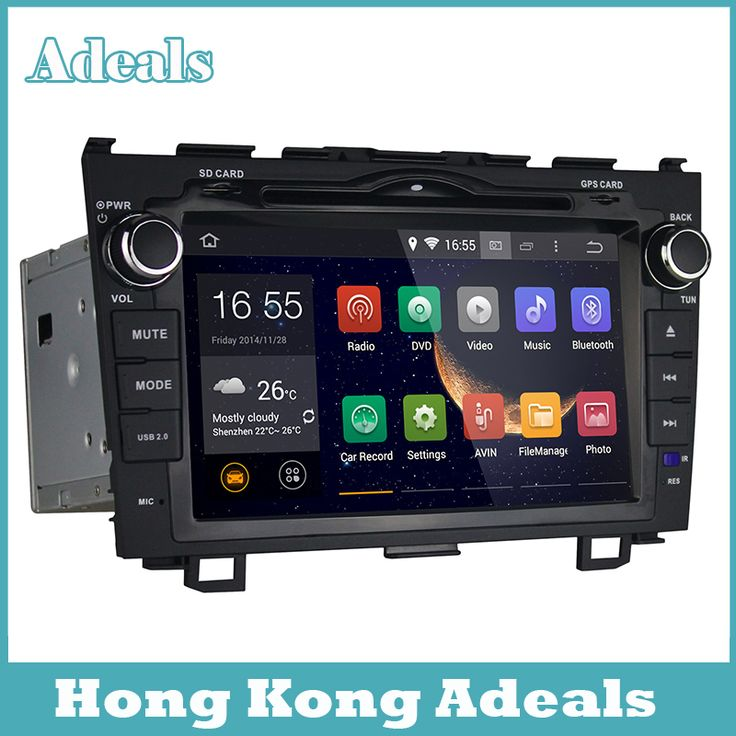Find More Car DVD Information about Android 4.4 Two Din 8 Inch Car DVD Player For Honda CRV 2008 2011 With Radio Map SWC Bluetooth WIFI GPS Touch screen,High Quality Car DVD from HongKong Adeals Auto Technology Co. Ltd  on Aliexpress.com