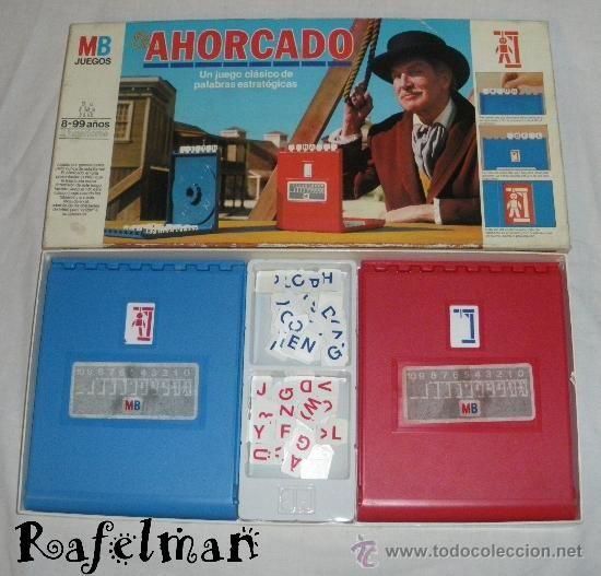 Juegos Clasicos Mb El Ahorcado Caja Anos 80 Juguetes Juegos