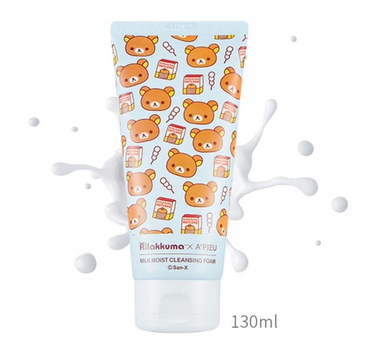 bbcosmetic - [A'PIEU] Rilakkuma Edition - Cleansing foam 130ml, $9.97 (http://bbcosmetic.com/apieu-rilakkuma-edition-cleansing-foam-130ml/)