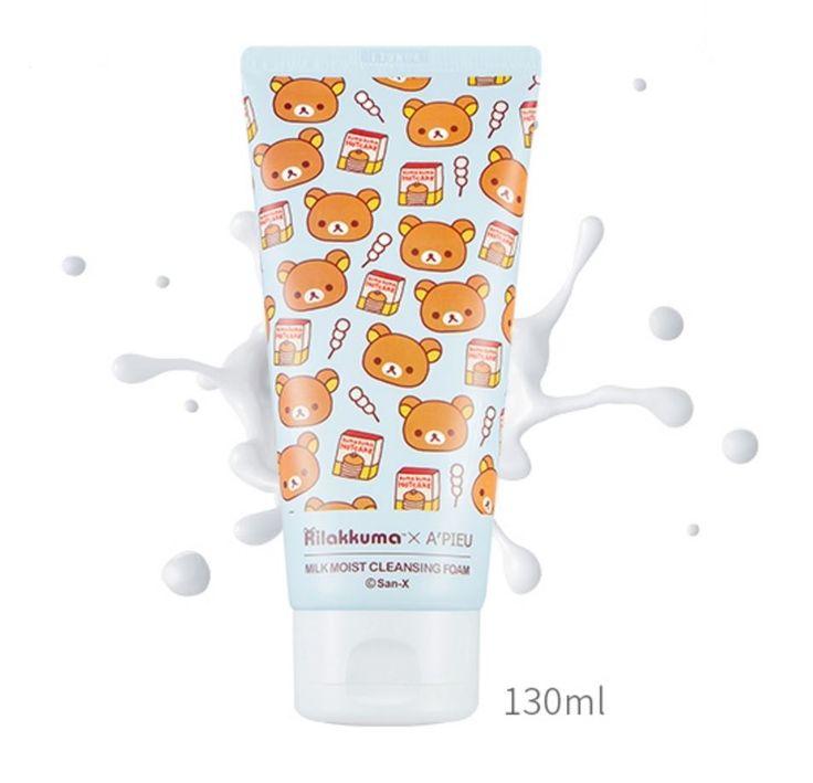 bbcosmetic - [A'PIEU] Rilakkuma Edition - Cleansing foam 130ml, $9.97 (http://bbcosmetic.com/apieu-rilakkuma-edition-cleansing-foam-130ml/)