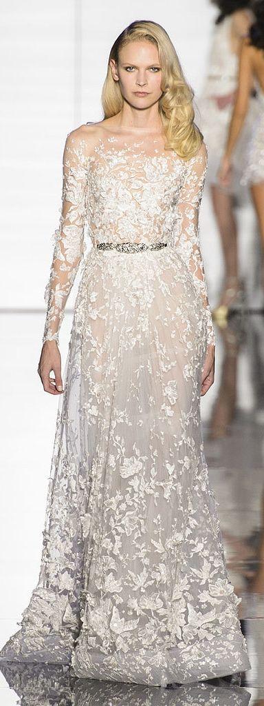Wedding dress inspiration: Zuhair Murad Haute Couture Spring 2015
