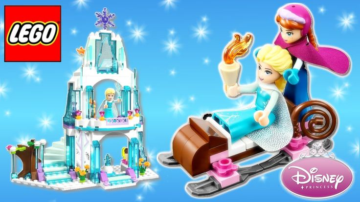 LEGO Disney Princess ⭐ Frozen Elsa's Sparkling Ice Castle 41062 with Princess Anna and Olaf by Rainbow Toys TV https://youtu.be/jYDL6w8HJeg
