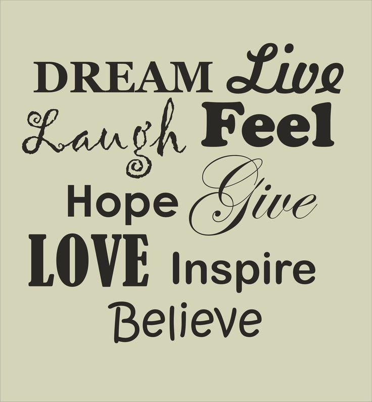 Live Laugh Love Dream Quotes. QuotesGram