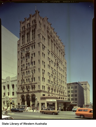 CML Building, St George's Tce, 1970s