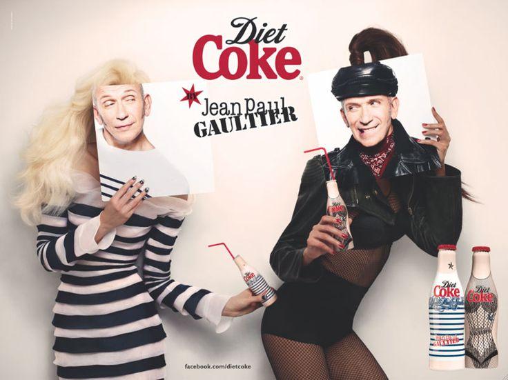 Jean Paul Gaultier is Diet Coke's New Creative Director