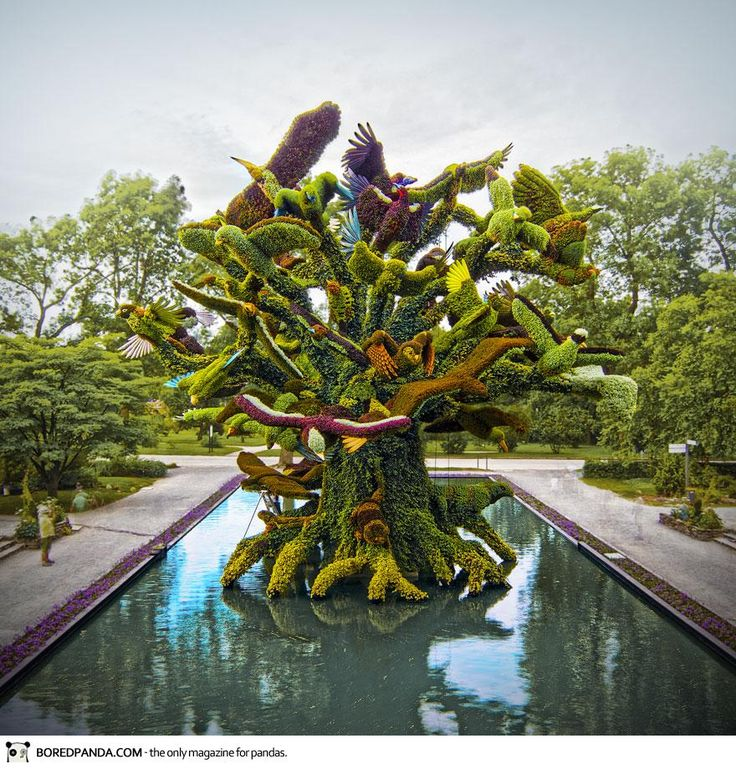 Amazing Topiary: Amazing Plant Sculptures At The Montreal Mosaiculture