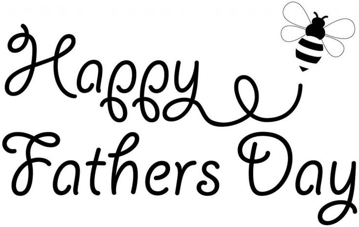 Fathers Day Clipart Black And White Father S Day Words Happy Fathers Day Cards Happy Fathers Day Images