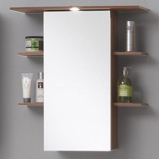 Madrid8 Plumtree Bathroom Mirror With Storage