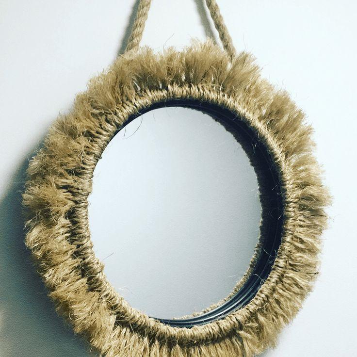 Miroir soleil en corde ~ Carolynz Blog | Mooka, le quotidien du DIY