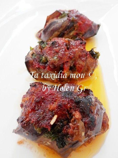 Τα ταξίδια μου : Κεφτεδάκια με Μελιτζάνες και Σάλτσα Ντομάτας στο Φούρνο