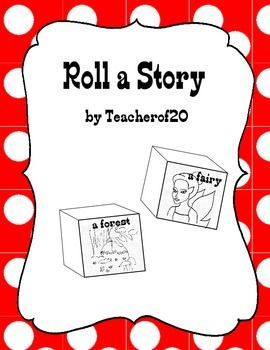 With this product you can create 2 dice, which students will roll to give them a setting and a character. After rolling a setting and character they will then write a short story with those two.
