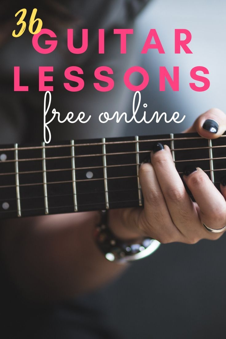 36 Guitar Lessons For Beginners In 2020 Free Guitar Lessons Guitar Lessons For Beginners Acoustic Guitar Lessons